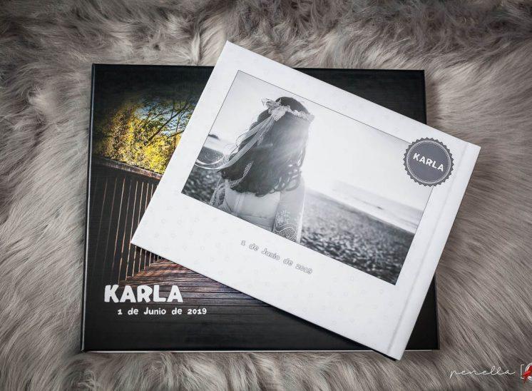 Comuniones en Asturias álbum con caja de la colección diseño