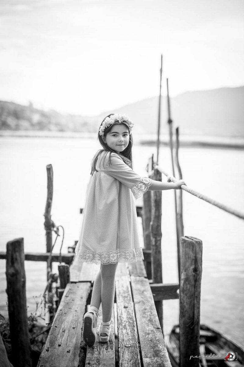 Foto infantil de chicos, chicas, niños y niñas en Asturias, Avilés, Oviedo o Gijón de Penella Fotografía en blanco y negro