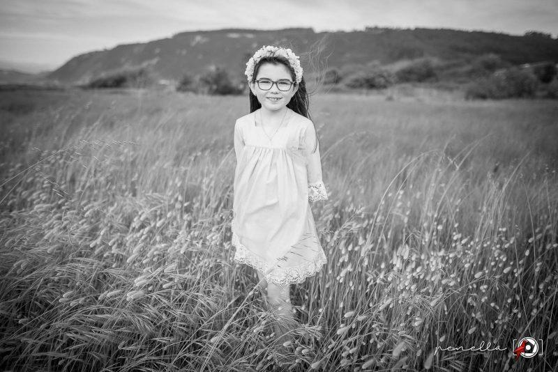 Foto infantil de chicos, chicas, niños y niñas en Asturias, Gijón, Avilés u Oviedo de Penella Fotografía en blanco y negro