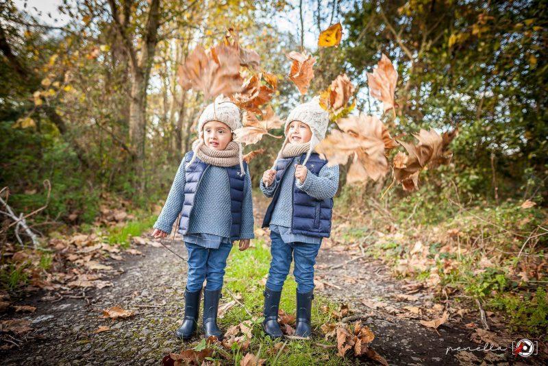 Foto infantil y de niños en sesión fotográfica de otoño en Asturias, Avilés, Gijón y Oviedo Penella Fotografía