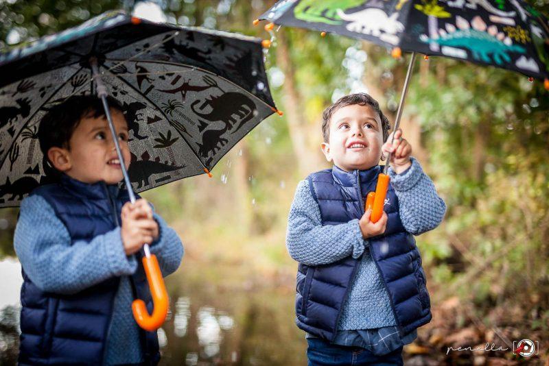Foto infantil y de niños en sesión de otoño en Asturias, Oviedo, Gijón y Avilés PenellaFotografia.com