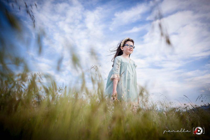 Fotógrafo infantil de niños y niñas en Asturias Penella Fotografía a domicilio