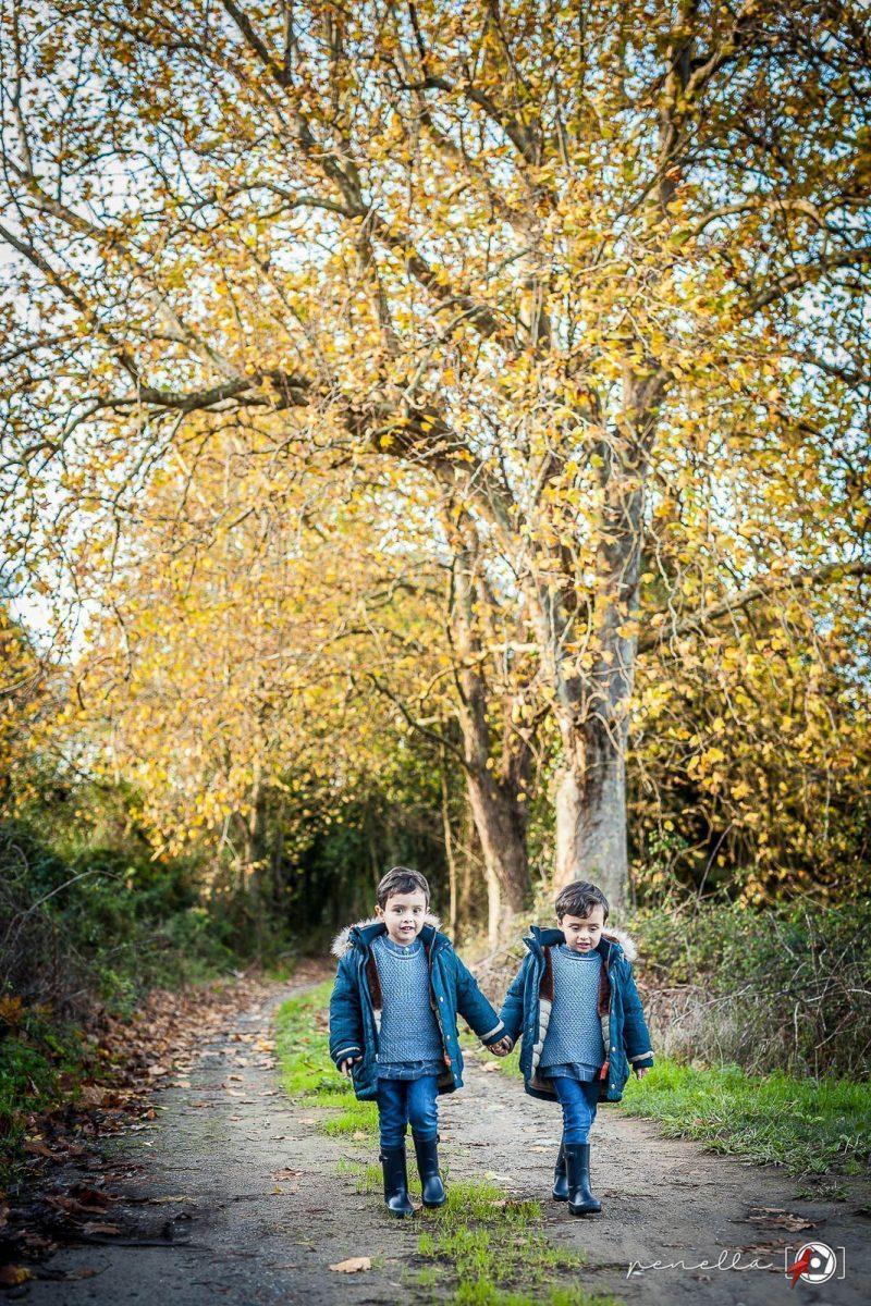 Penella Fotografía, fotógrafo de niños e infantil en Asturias, Avilés, Gijón y Oviedo en sesión fotográfica en otoño
