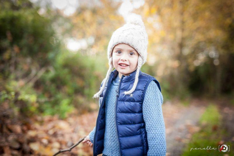 Penella Fotografía, fotógrafo de niños e infantil en Asturias, Gijón, Oviedo y Avilés en sesión fotográfica de otoño