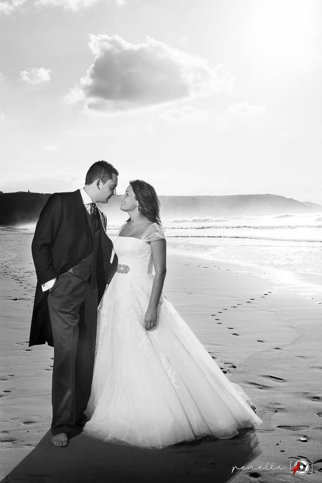 Reportaje de bodas en Asturias, Gijón, Avilés y Oviedo de la fotógrafa Penella Fotografía