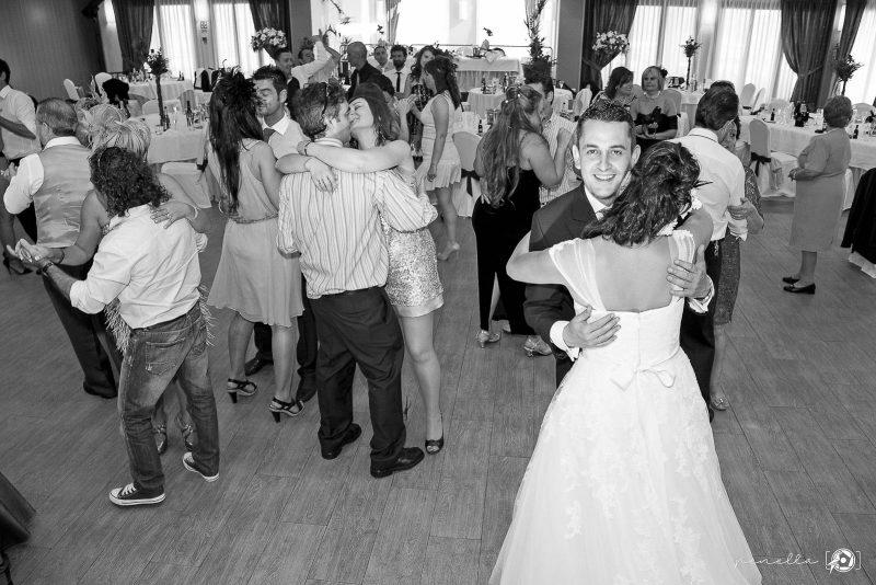 baile nupcial en el Restaurante de bodas Peñamea en Asturias