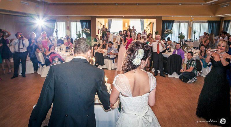 banquetede bodas en el restaurante Peñamea en Asturias