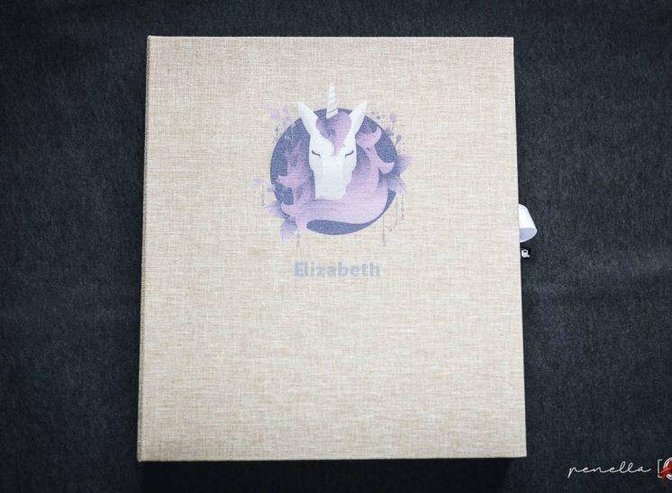 caja de álbum de comunión con grabado personalizado para comuniones en Asturias