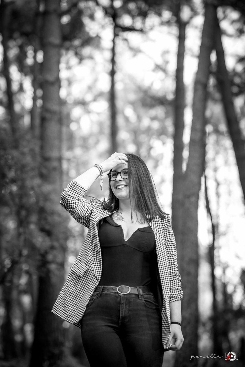fotógrafo de sesión book y retratos en blanco y negro en Asturias